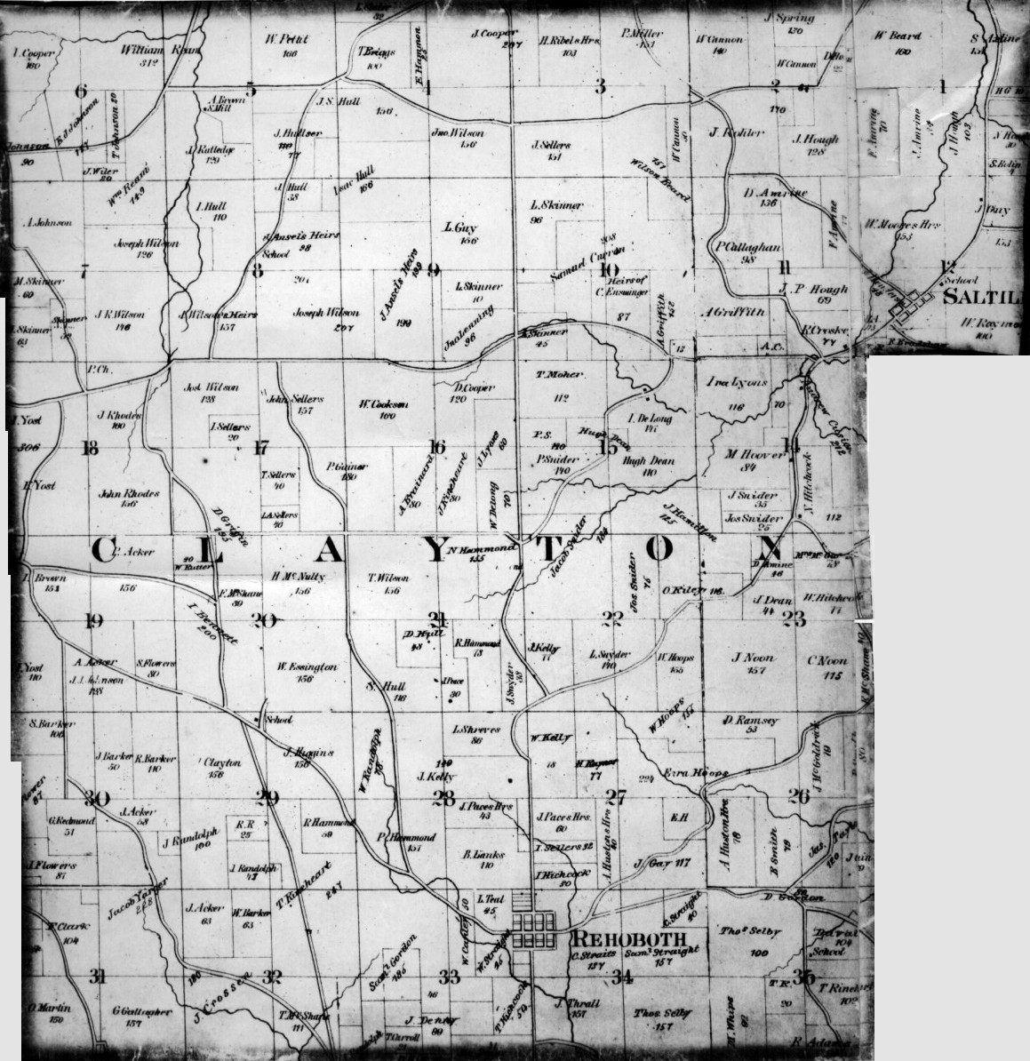 Perry County Ohio Map